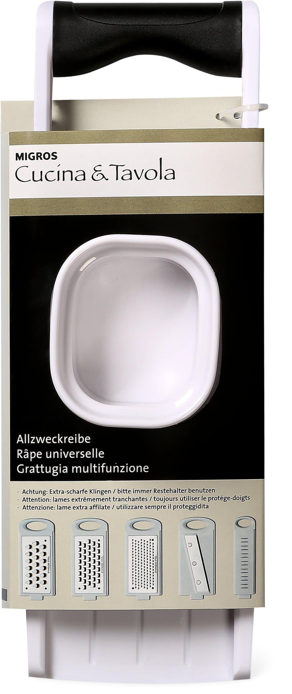 Cucina & Tavola CUCINA & TAVOLA Grattugia multifunzione