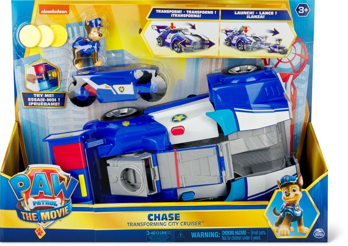 Spin Master Paw Patrol Movie Chase Transforming City Cruiser Spielset