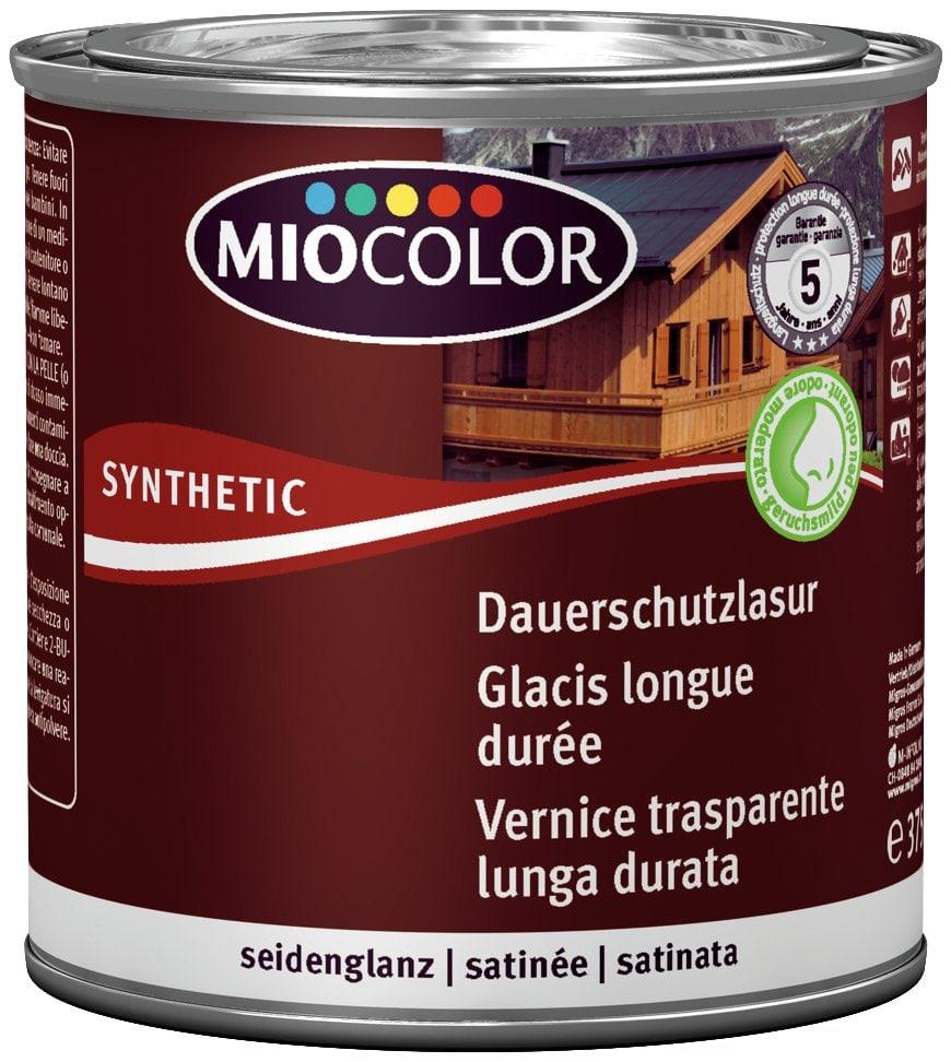 Miocolor Vernice trasparente lunga durata Teak 375 ml