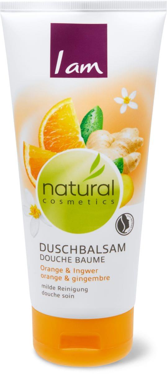 I am Natural Cosmetics douche orange & gingembre