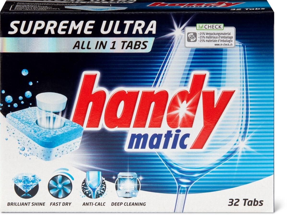 Handymatic Supreme Geschirrspülmaschinen Ultra Tabs all1