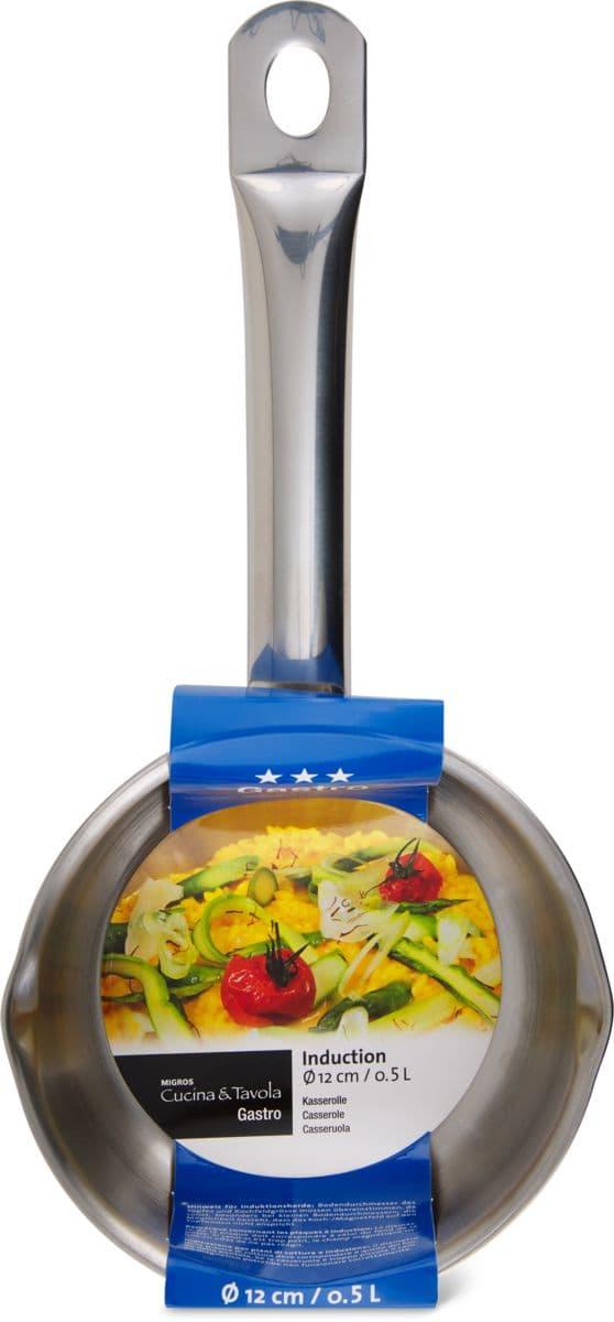 Cucina & Tavola Stielkasserolle 12cm GASTRO