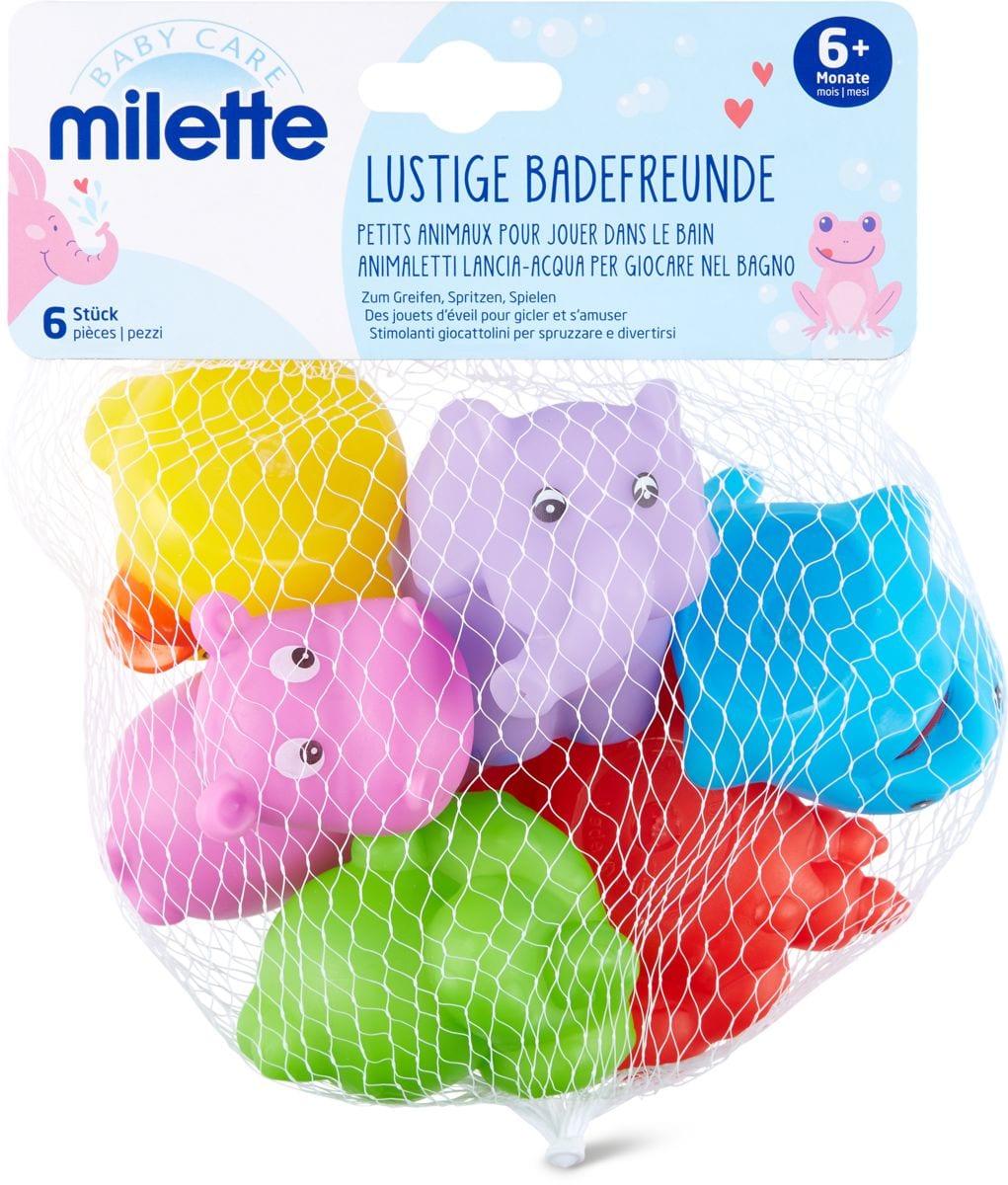 Milette Animaletti lancia-acqua per giocarae nel bagno