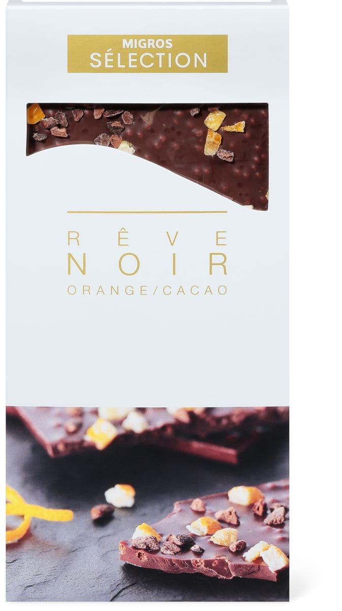 Sélection Rêve noir Orange/cacao