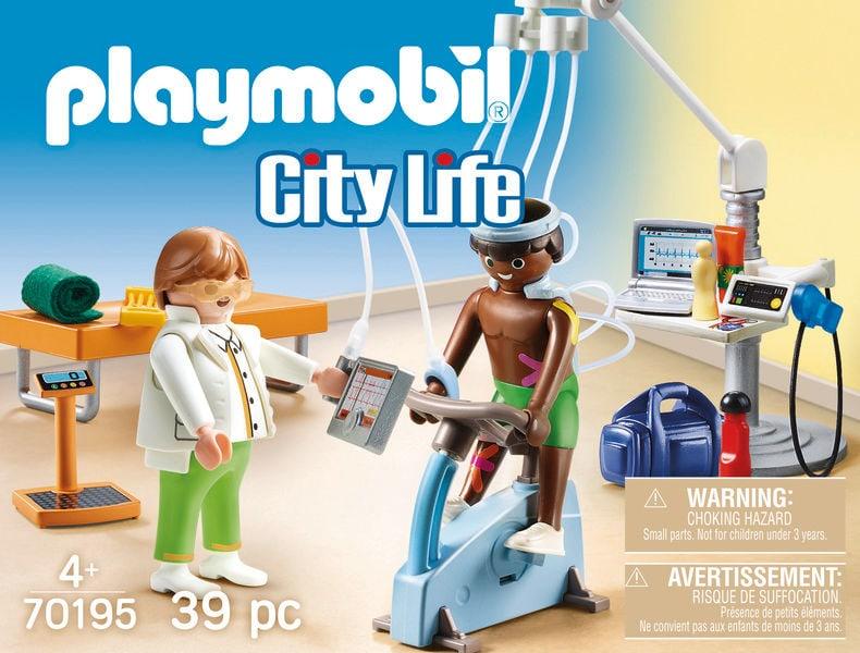 Playmobil 70195 Kinésithérapeute