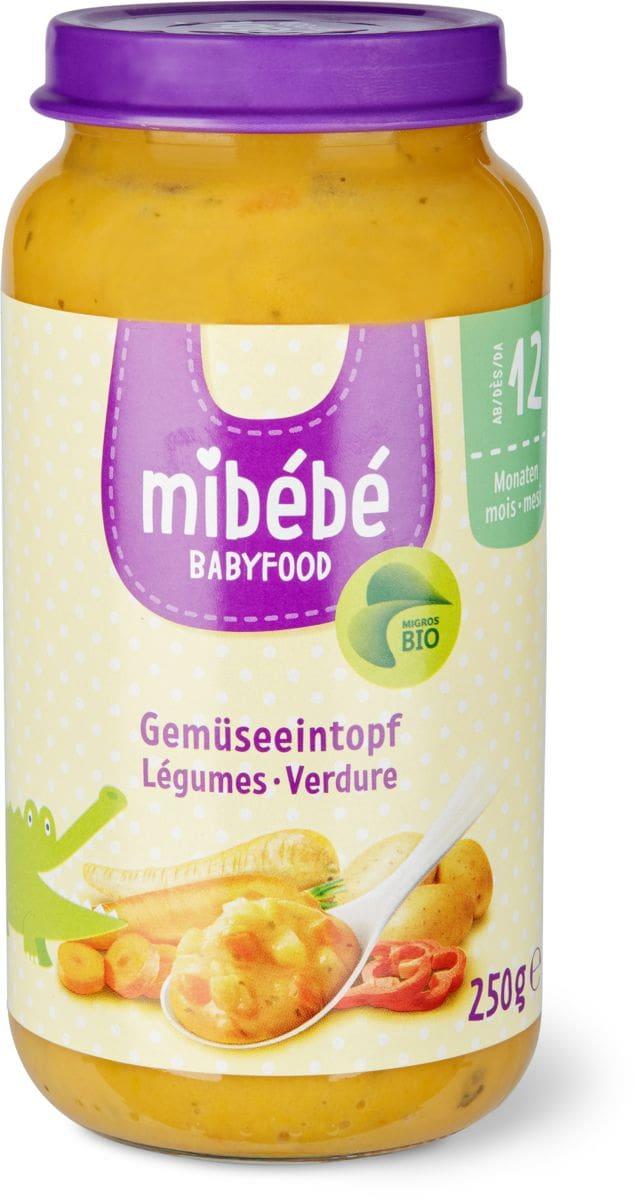 Mibébé Potée de légumes