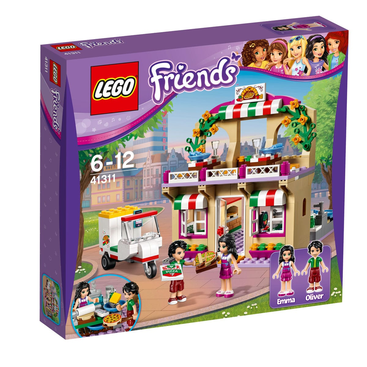 LEGO Friends La pizzeria d'Heartlake City 41311