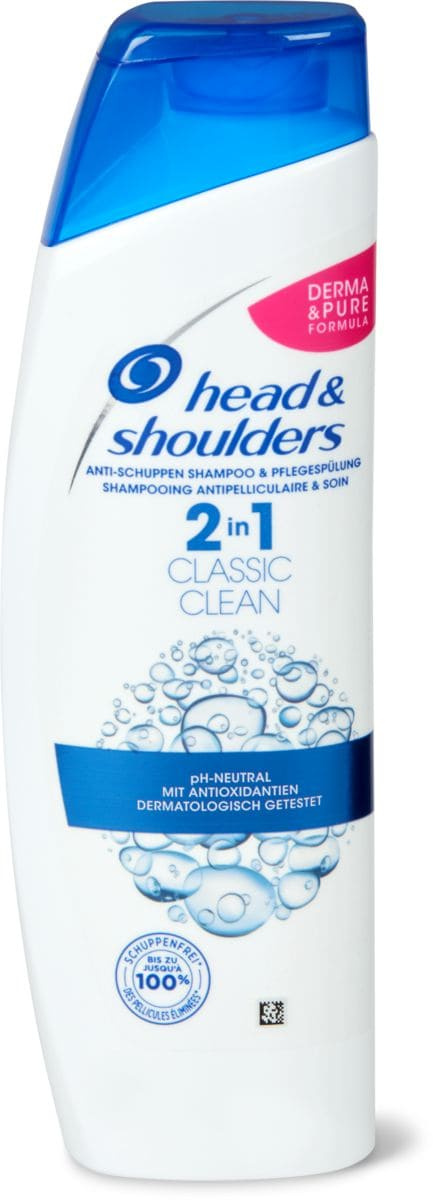 Head & Shoulders 2in1 Classic Clean Shampooing