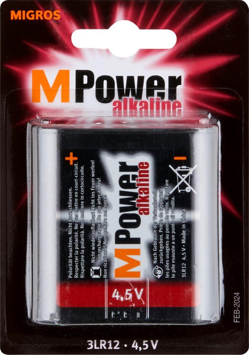M-Power 3LR12 / 4.5V 1 pièce pile