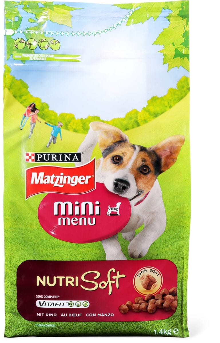 Matzinger Mini Menu Nutri soft manzo
