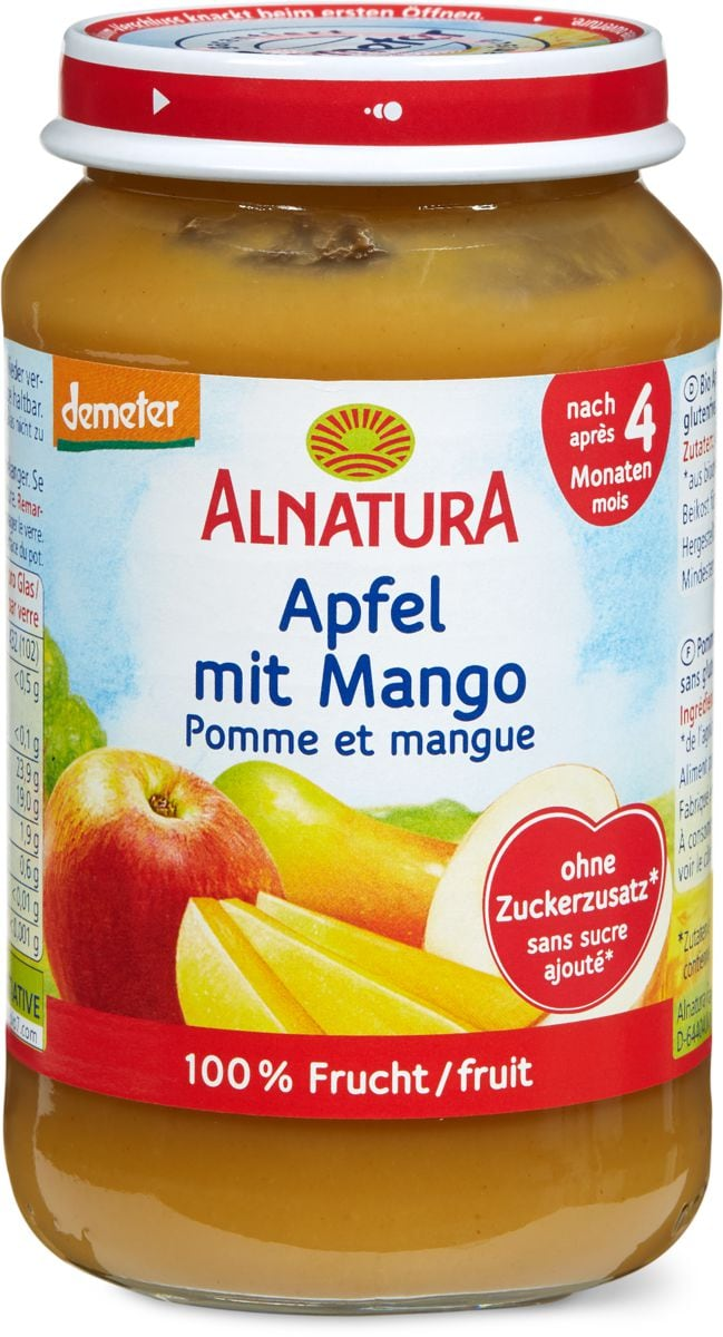 Alnatura Apfel mit Mango