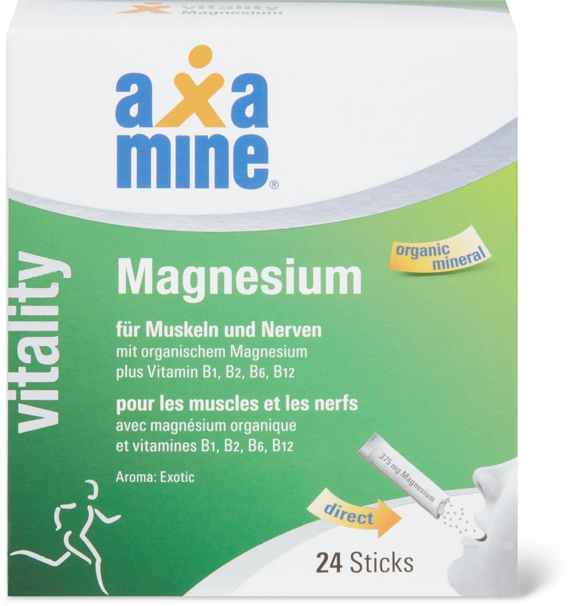 Axamine magnésium
