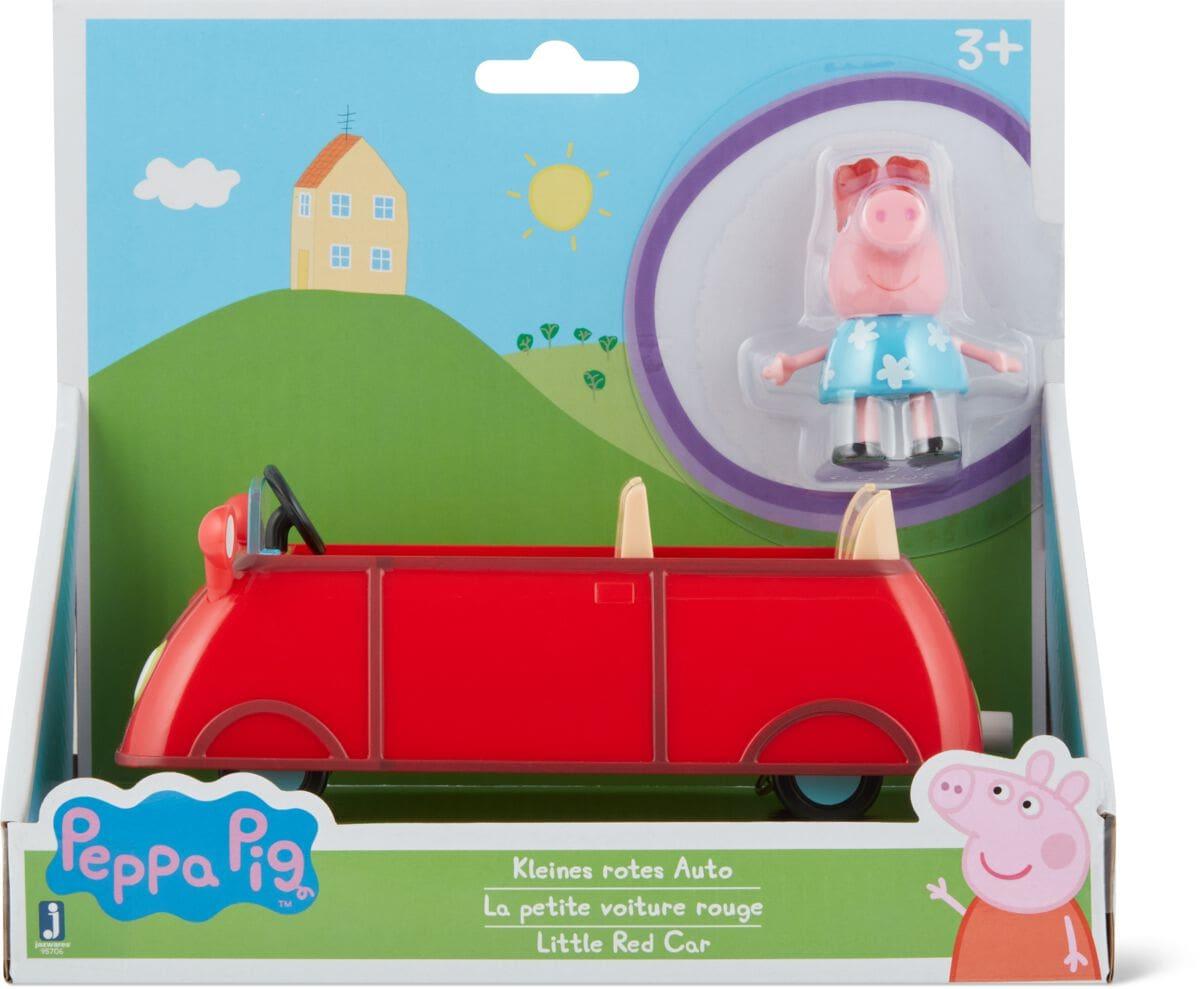 Peppa Pig Red Car Spielfahrzeug