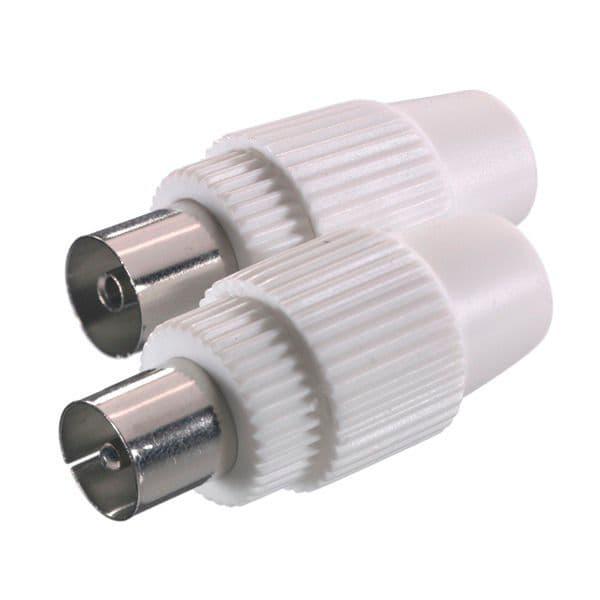 vivanco steckerset f r antennenkabel koax stecker und koax kupplung stecker migros. Black Bedroom Furniture Sets. Home Design Ideas