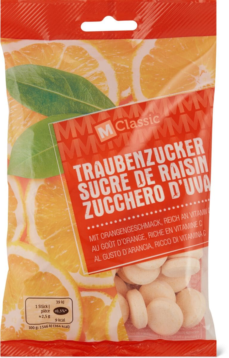 M-Classic Traubenzucker Orange