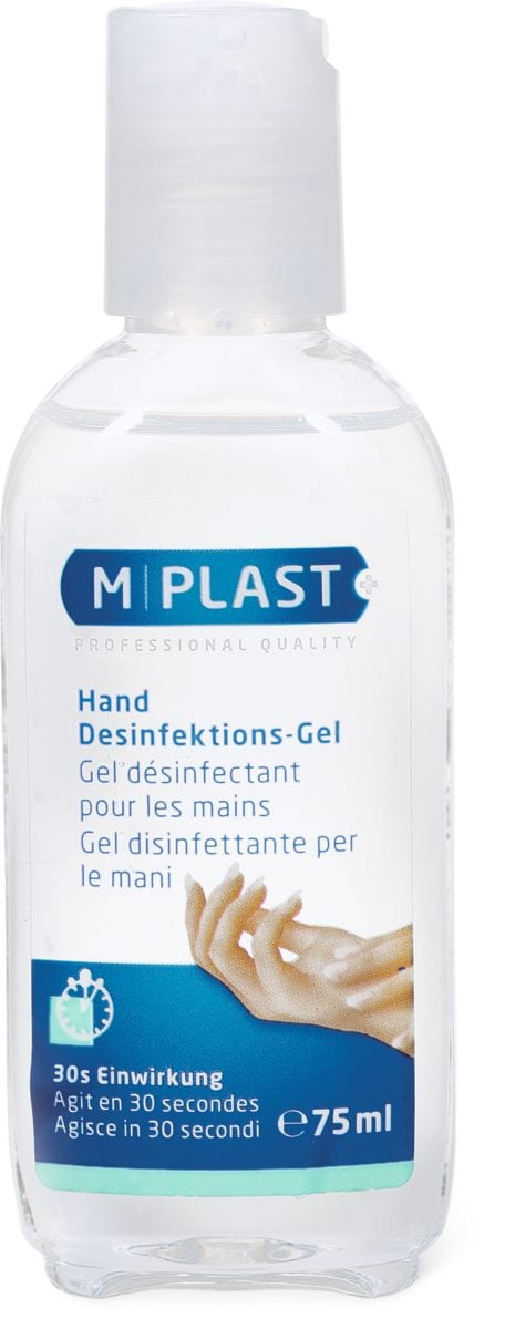 M-Plast gel antisept.