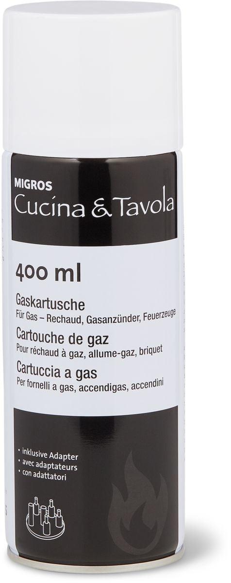 Cucina & Tavola Cartouche de gaz, 400ml