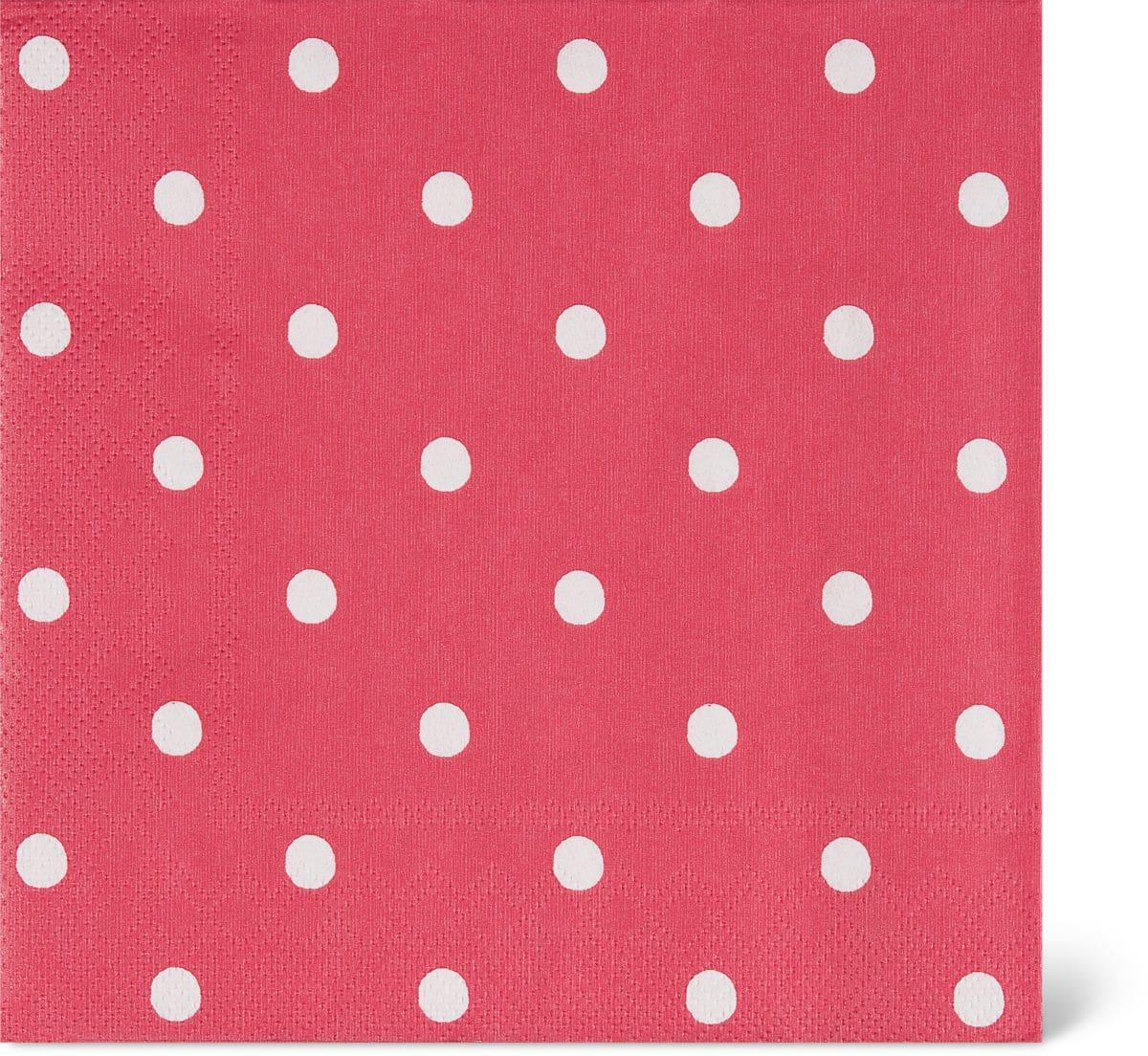 Cucina & Tavola Serviettes en papier, 33x33cm