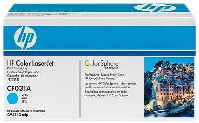 HP cyan, 12'500 Seiten Toner