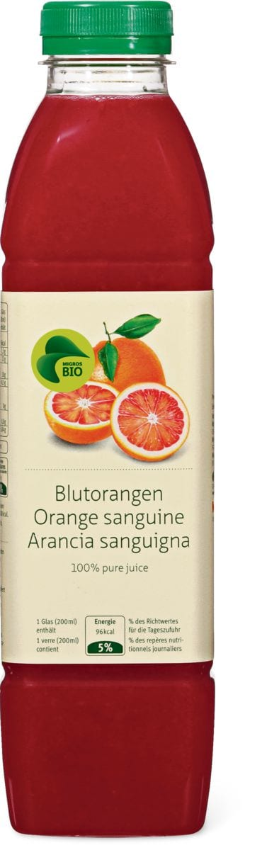 Bio Juice orange sanguine