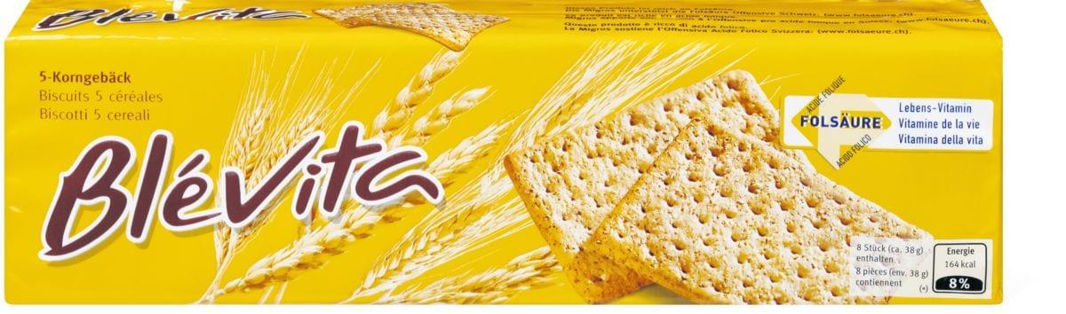 Blévita Biscuits 5 céréales