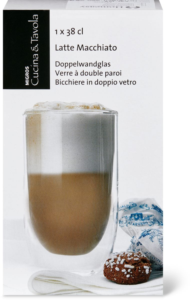 cucina tavola latte macchiato glas doppelwand migipedia. Black Bedroom Furniture Sets. Home Design Ideas