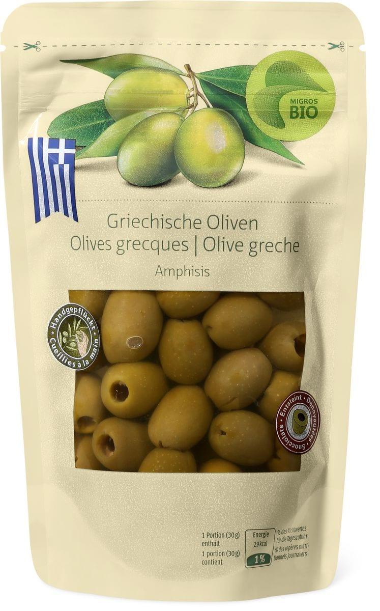 Bio Griechische Oliven Amphisis