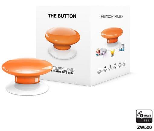 fibaro z wave button orange intelligenter schalter migros. Black Bedroom Furniture Sets. Home Design Ideas