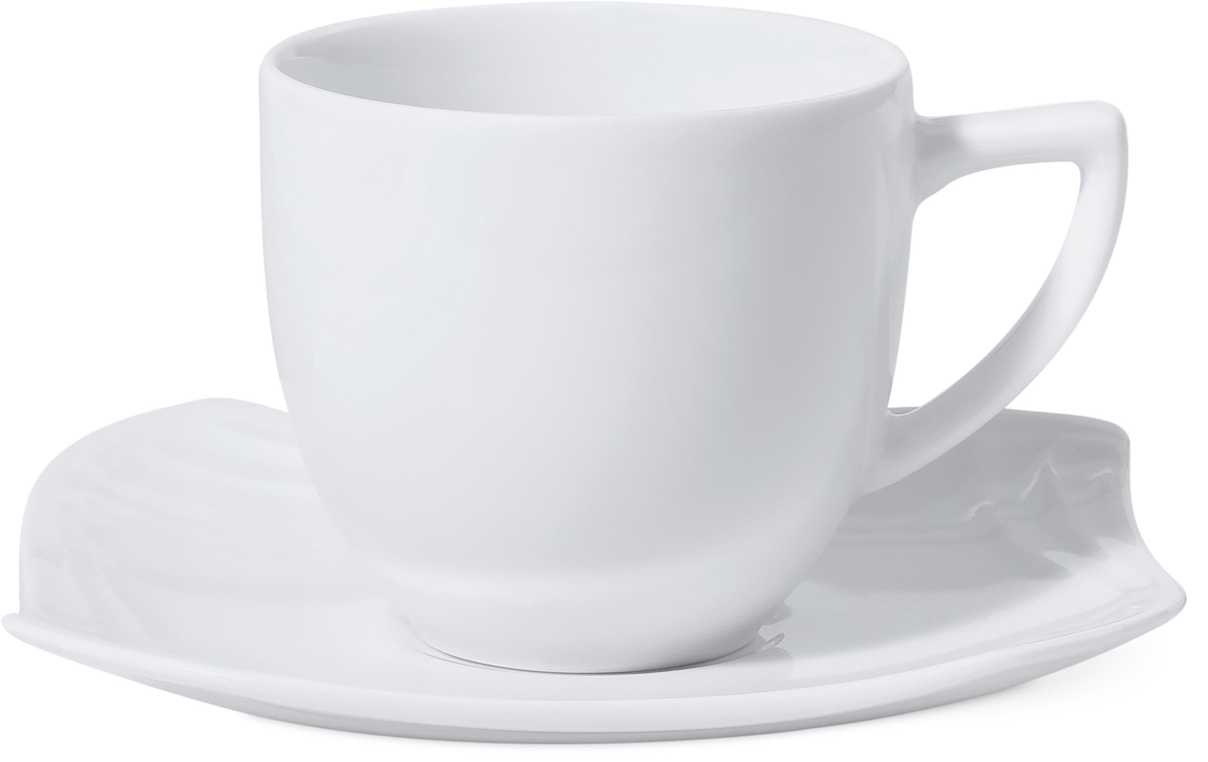 Cucina & Tavola VANITY Kaffeetasse mit Unterteller