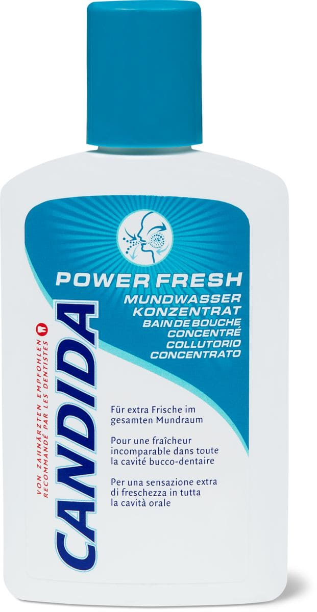 Candida eau dentaire Power fresh