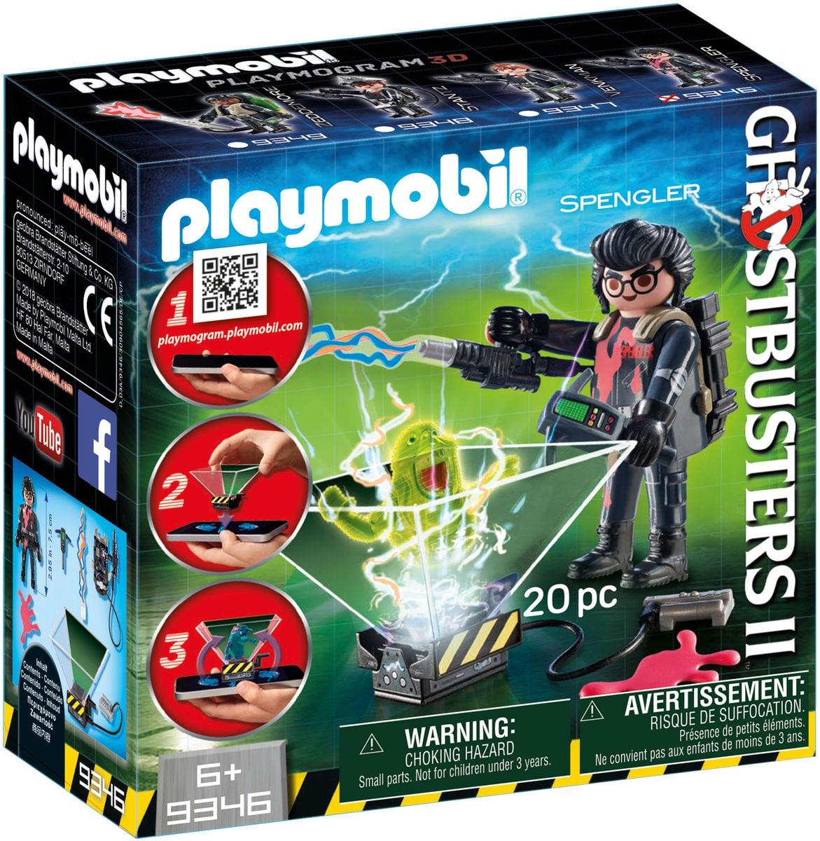 Playmobil Ghostbuster Egon Spengler