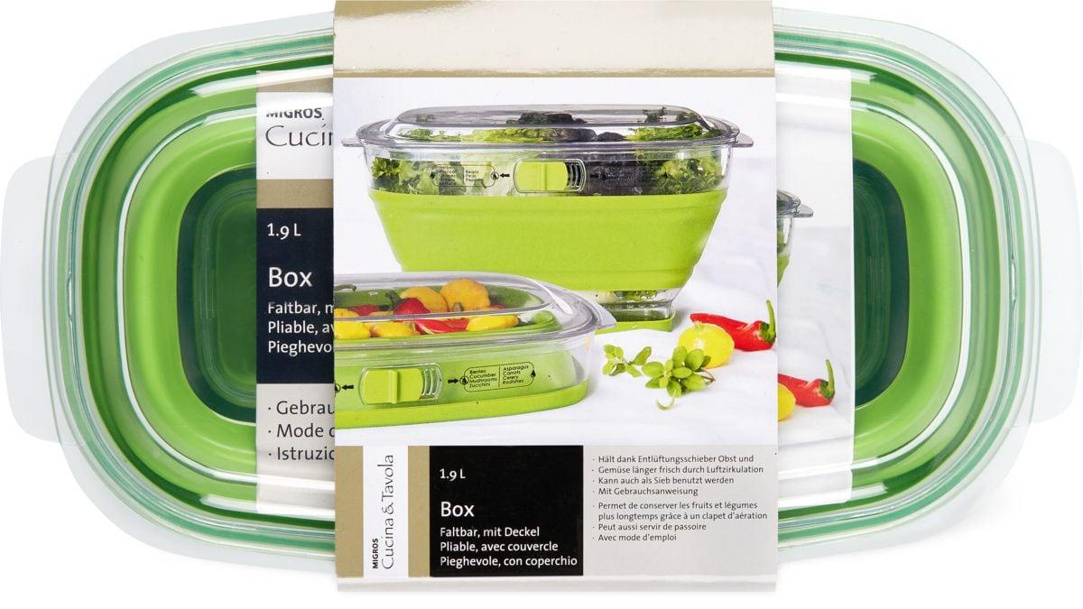Cucina & Tavola Box faltbar m. Deckel