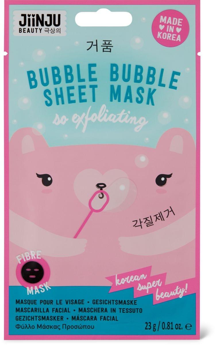 Jiinju Bubble Sheet Mask