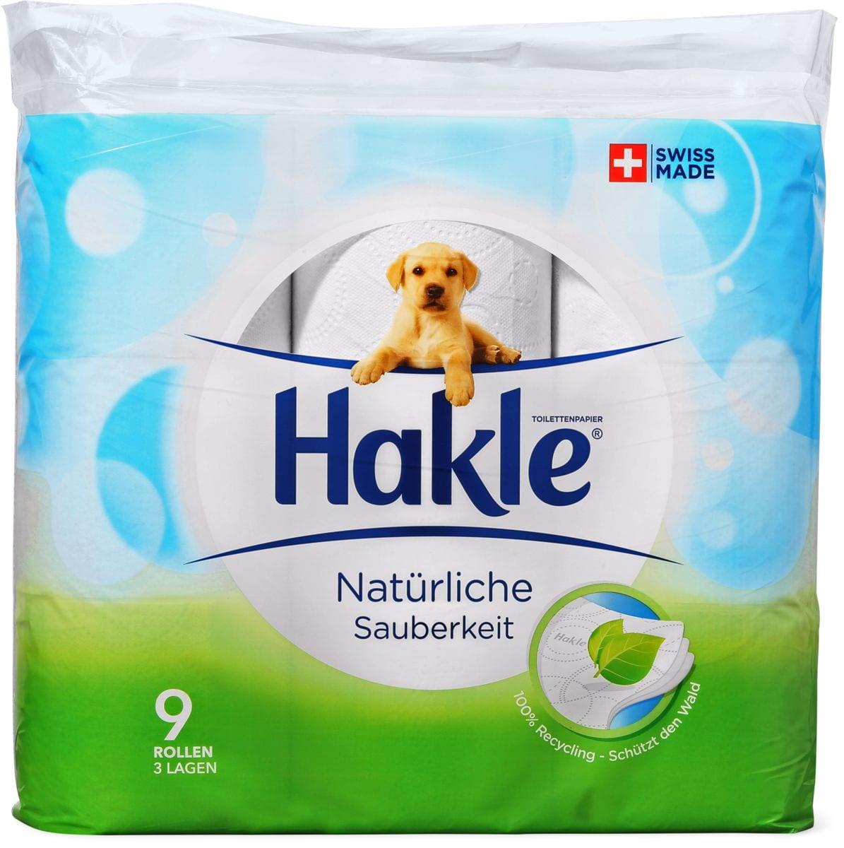 Hakle Propretà Nat. Papier hygiénique