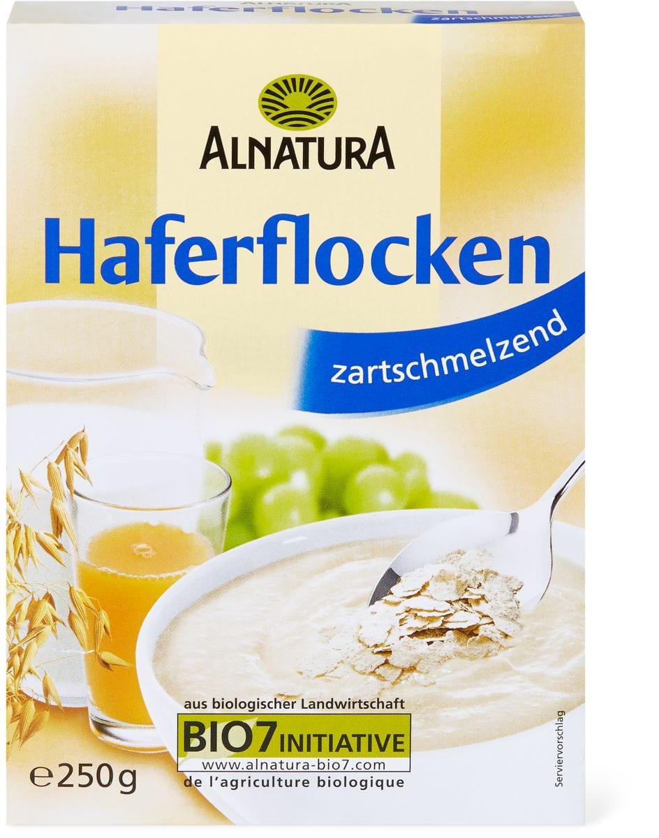 Alnatura Haferflocken zartschmelz.