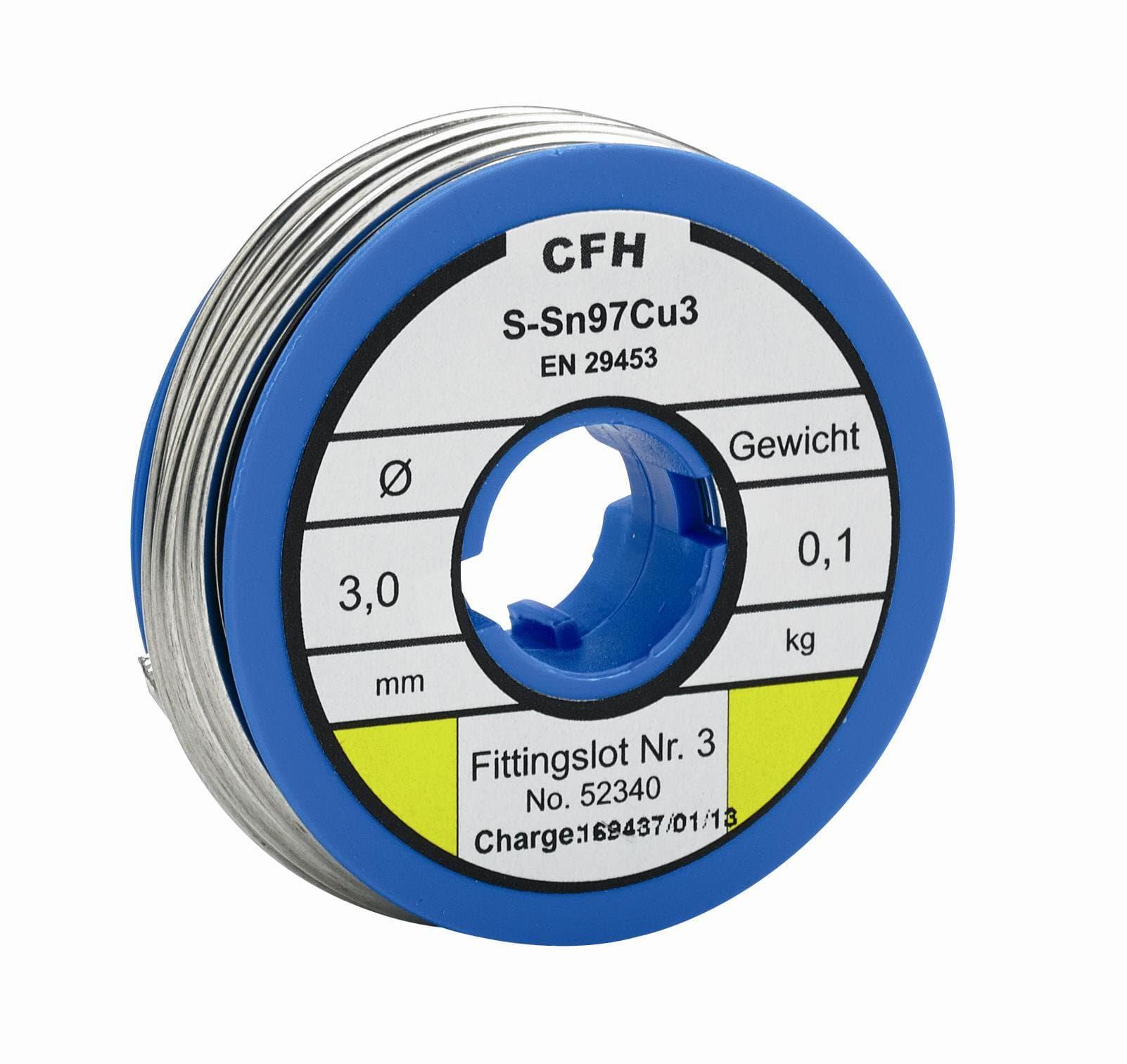 Cfh Fittingslot WL 340 100 g Lote