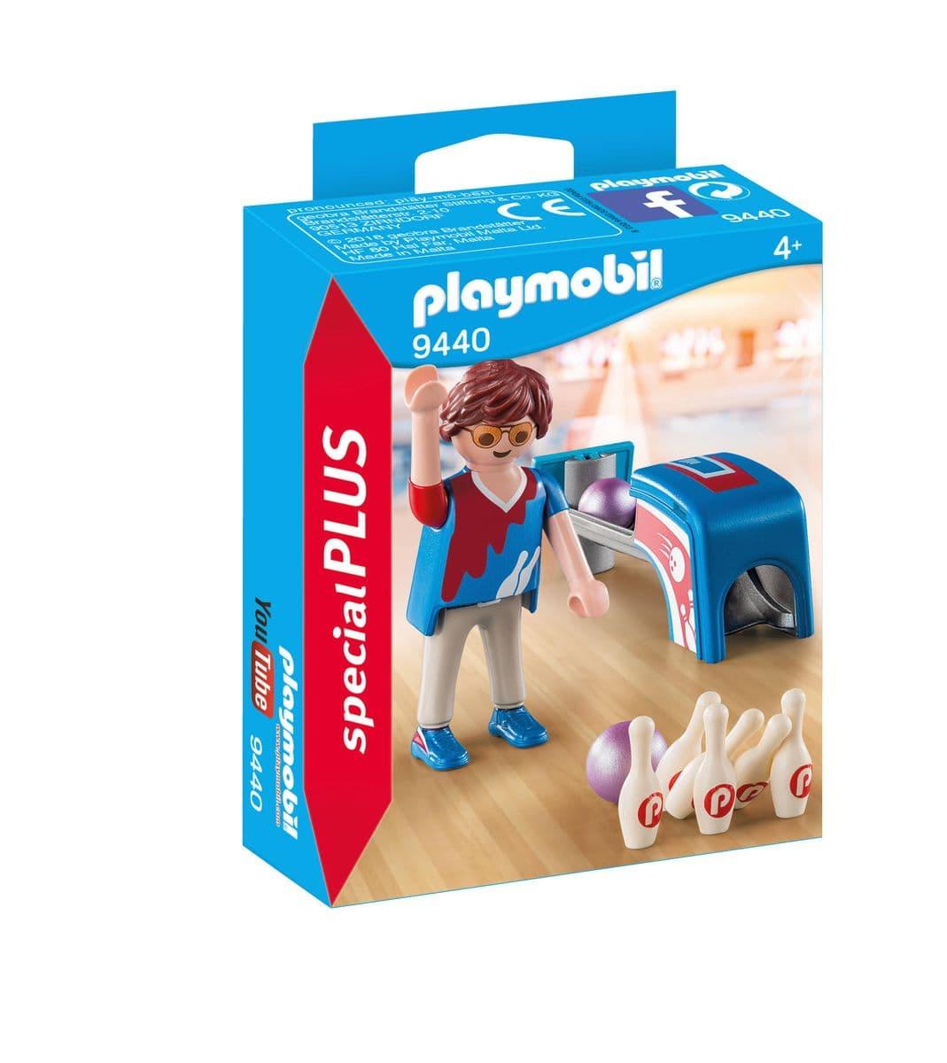 Playmobil Joueur de bowling