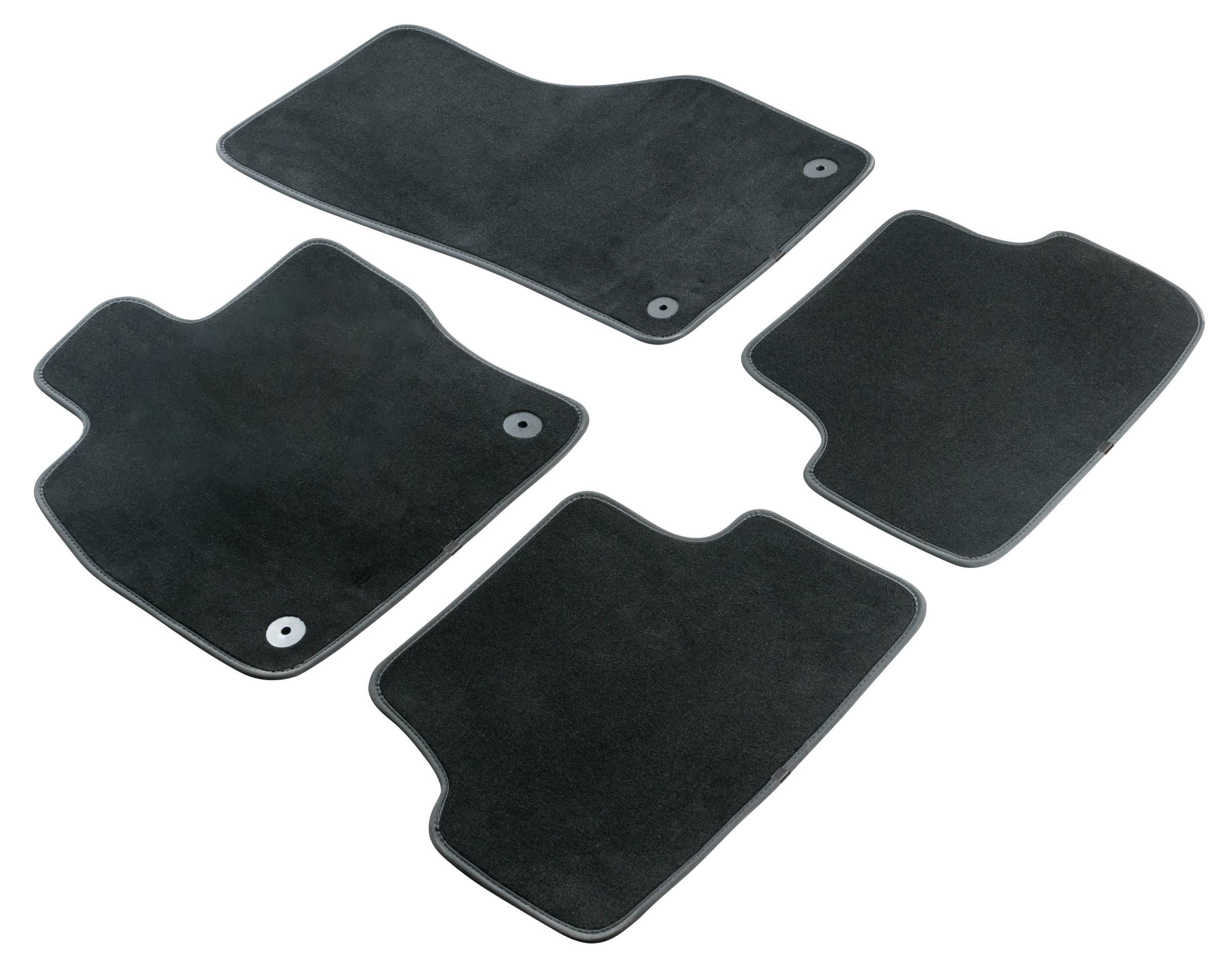 WALSER Set de tapis de voiture premium SKODA Tapis de voiture