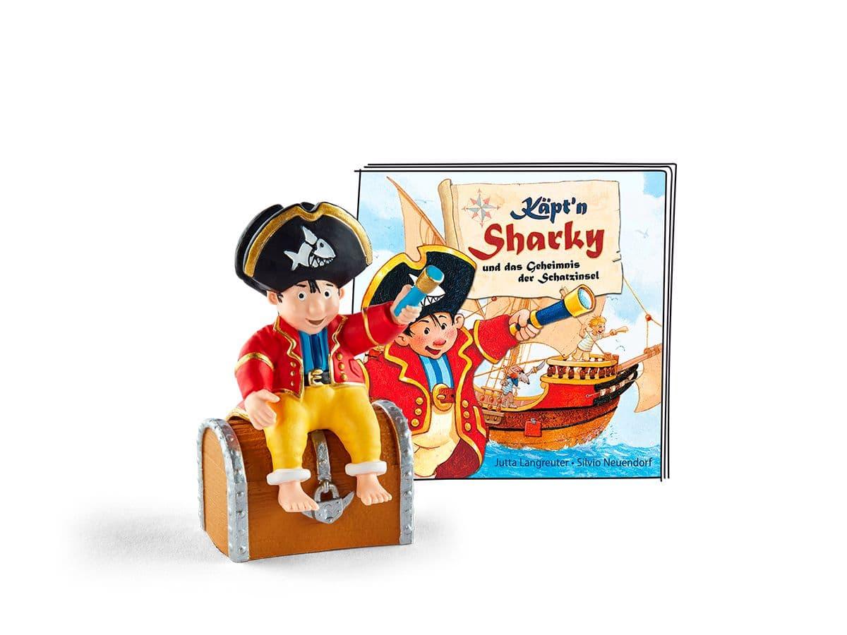 tonies® Käpt'n Sharky - Käpt'n Sharky und das Geheimnis der Schatzinsel (DE) Hörspiel