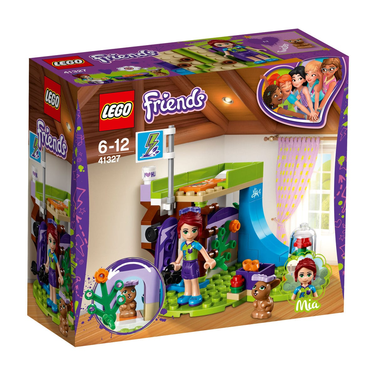 Lego Friends 41327 La Chambre De Mia