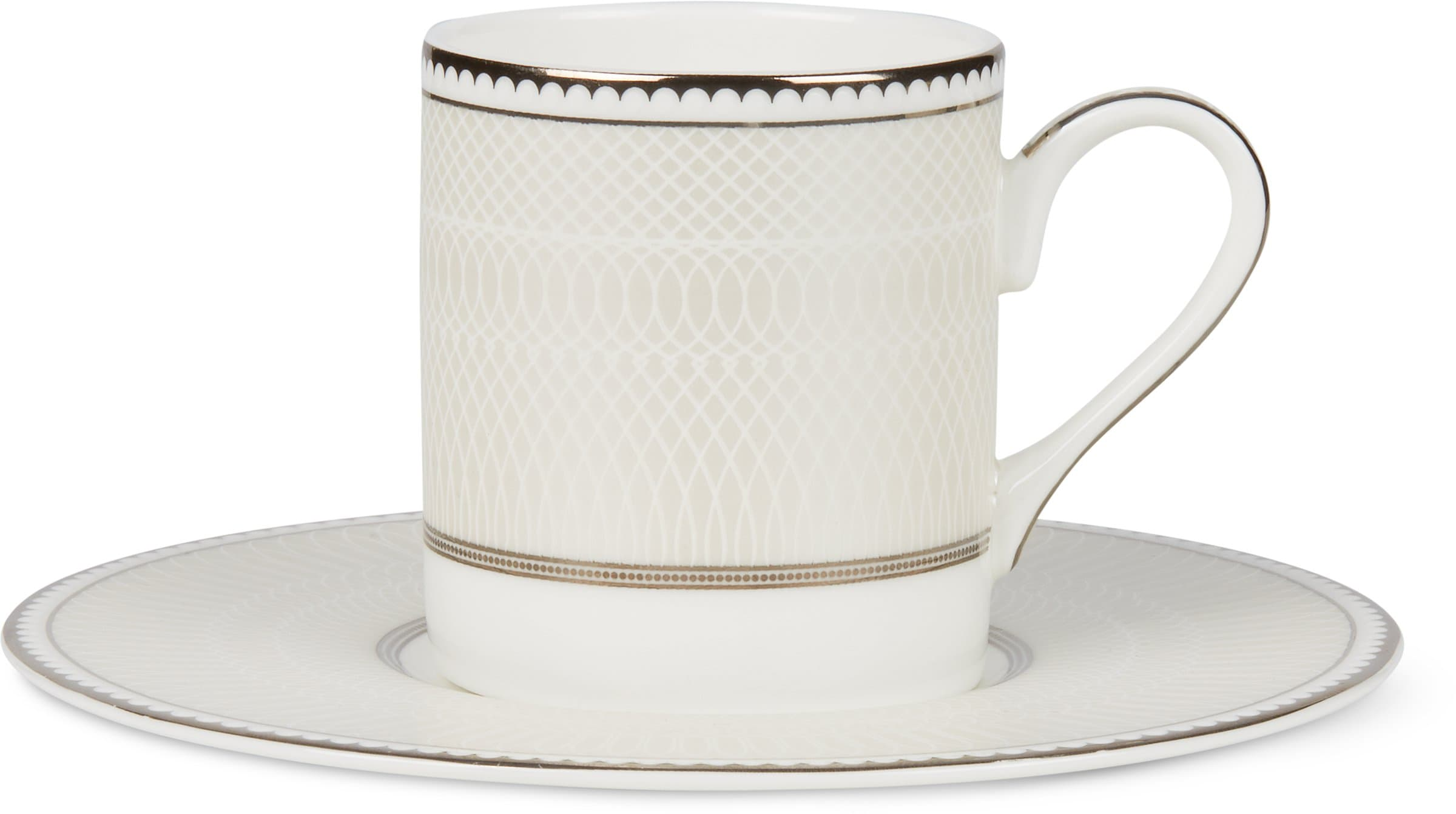 Cucina & Tavola NOBLESSE Tasse à espresso avec sous-tasse Tasses