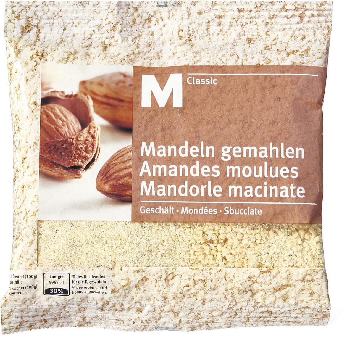 M-Classic Mandorle macinate+sbucciate