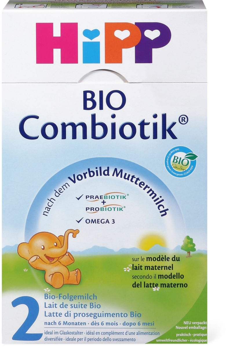 Bio HiPP Combiotik Folgemilch 2