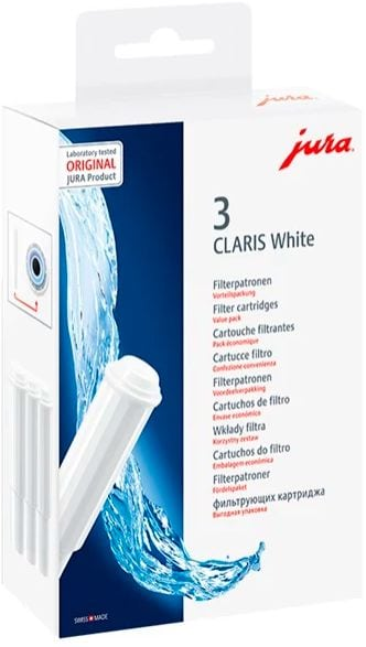 JURA CLARIS Smart White, 3er-Set  cartuccia filtrante