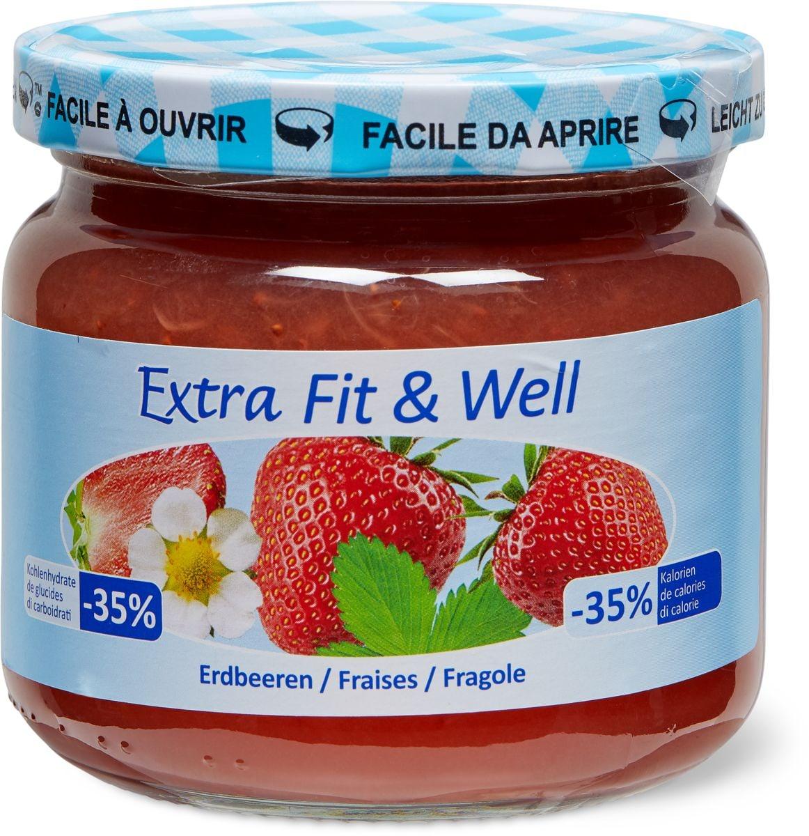 Extra Fit & Well Erdbeeren