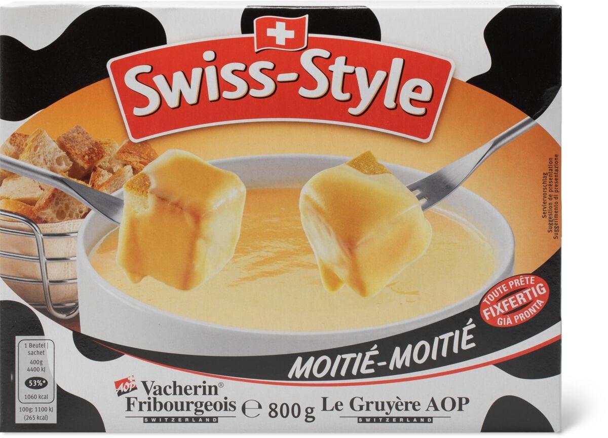 Swiss-Style Fondue Moitié-Moitié