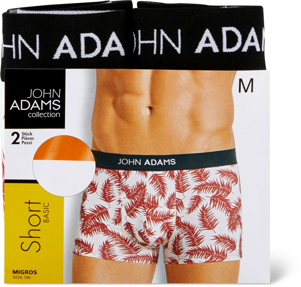 John Adams Herren-Shorts im 2er-Pack