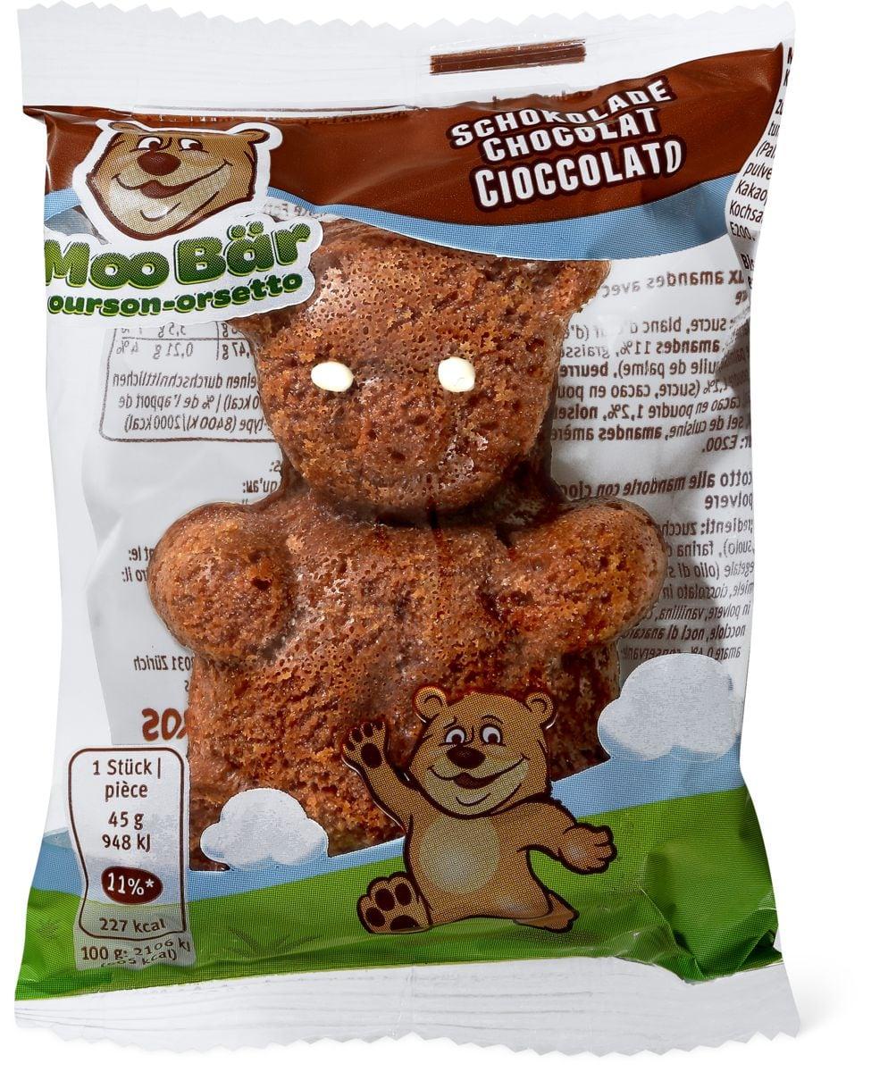 Moo ourson chocolat