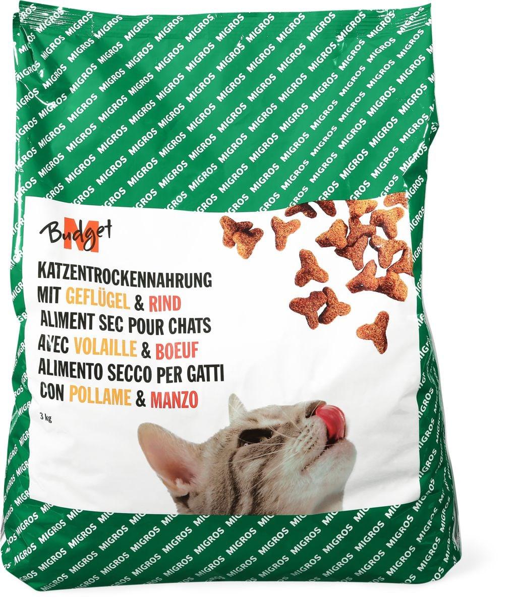 M-Budget aliment Chats mix à viande