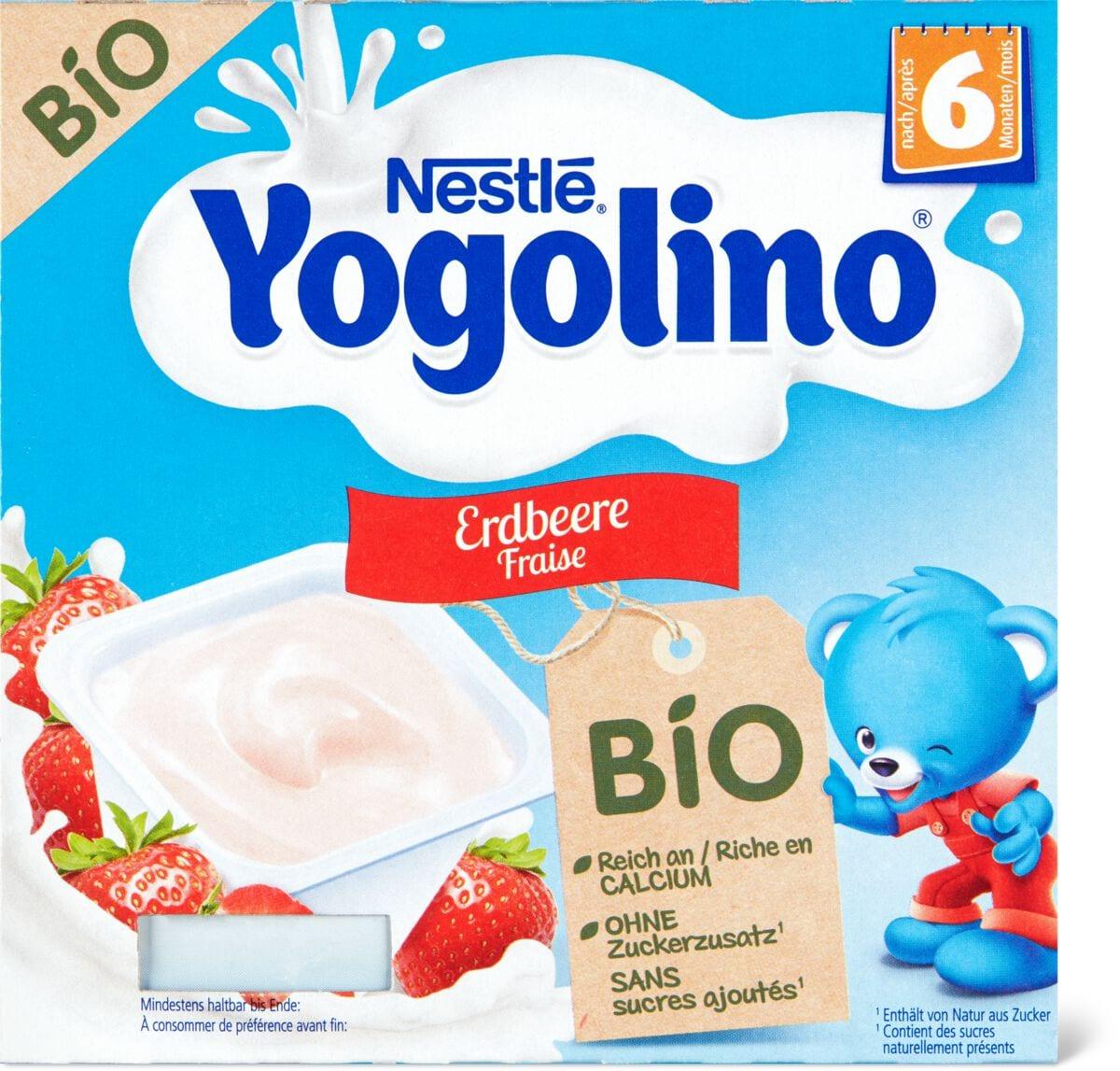 Yogolino Erdbeere